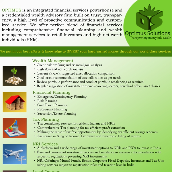 Optimus Solutions Frontside